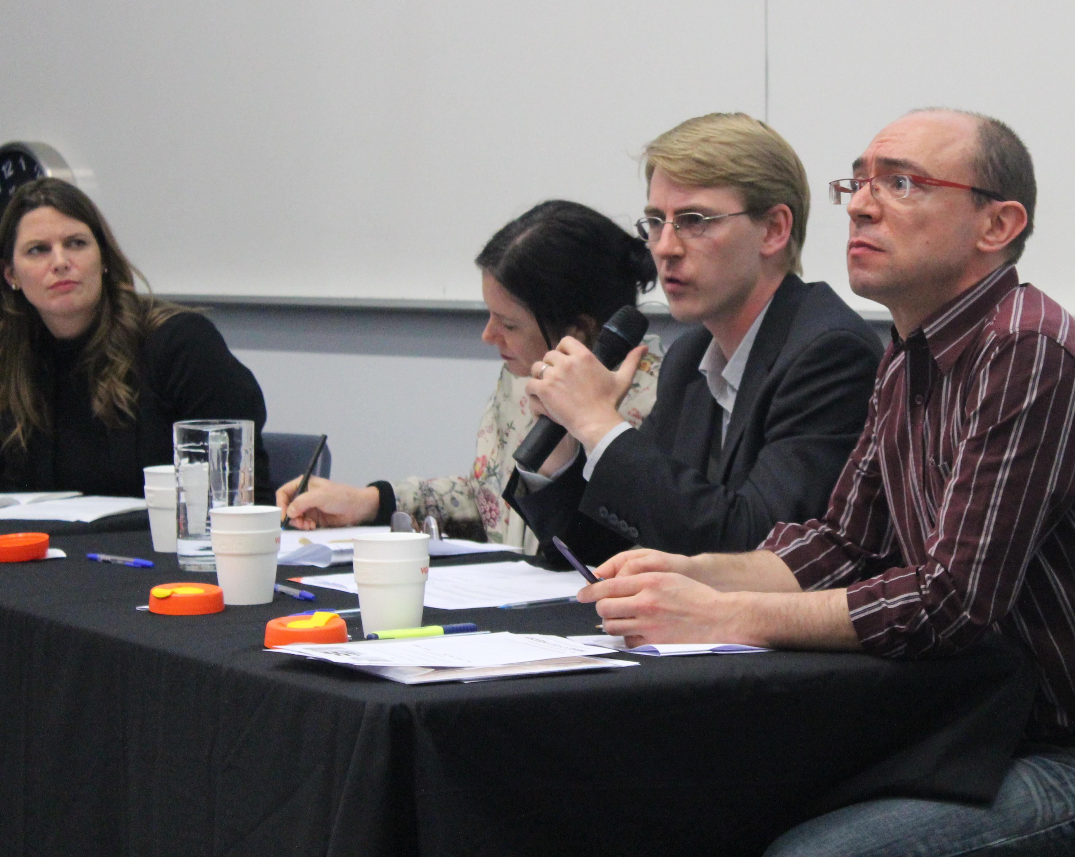 Michael Cornish, 2 August 2013, Adelaide Aid Electoral Forum