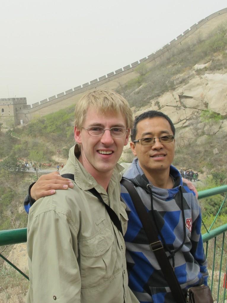 Michael Cornish, 28 April 2011, Great Wall of China