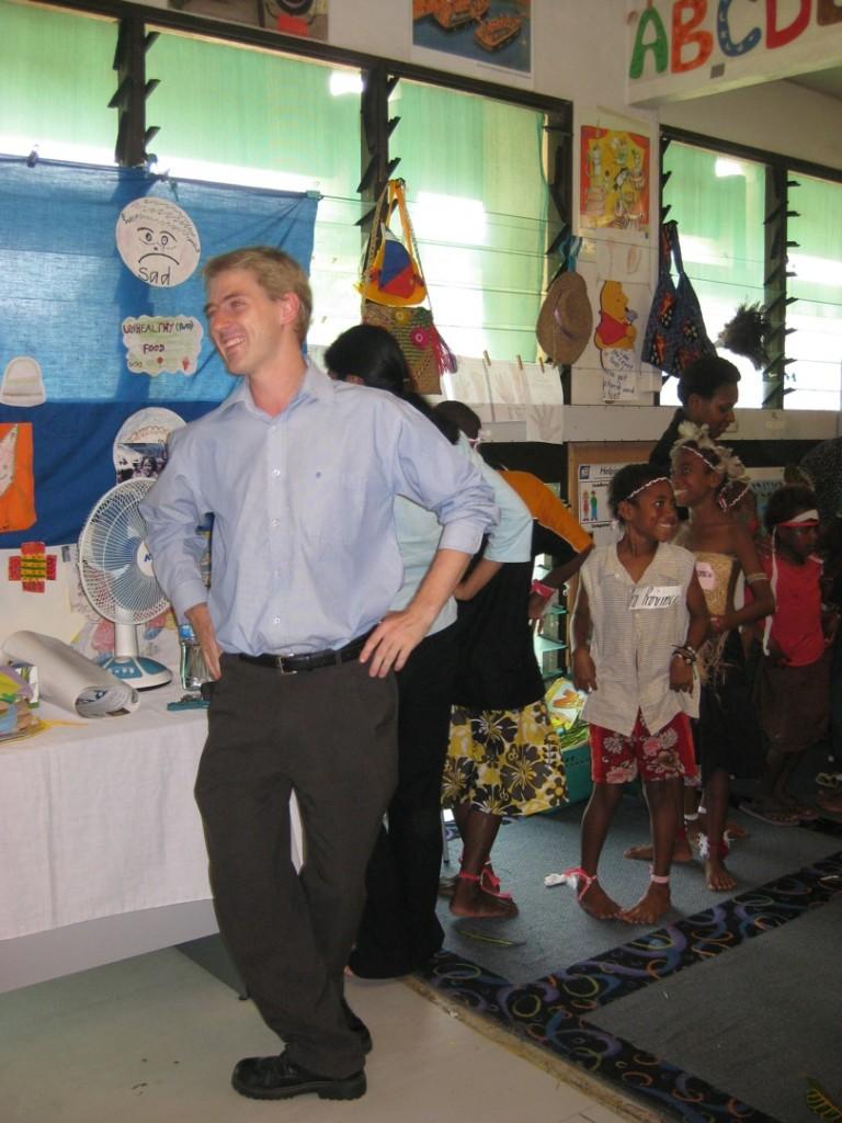 Michael Cornish, August 2009, Port Moresby
